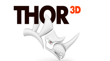 THOR3D PARTNERS WITH RHINOCEROS (MCNEEL) TO OFFER A NEW PRODUCT FOR RHINO-FANS