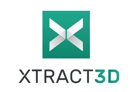 XTract3D logo