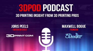 ANNA ZEVELYOV, CEO AND CO-FOUNDER OF THOR3D, AT 3DPOD PODCAST